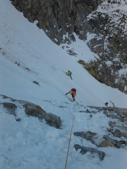 Piz cambrena via del seracco scivolo nord piz arlas piz palu mountainspace skialper bernina diavolezza alpinismo engadina palù naso ghiaccio giacomo longhi michele gusmini (8)