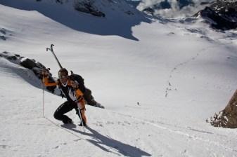 Scialpinismo monte rosa monte rosa highway skialper capanna margherita giacomo longhi mountainspace vincent parrot corno nero balmenhorn zumstein - (3)