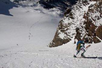 Scialpinismo monte rosa monte rosa highway skialper capanna margherita giacomo longhi mountainspace vincent parrot corno nero balmenhorn zumstein - (4)