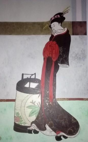 5 Geisha con lanterna