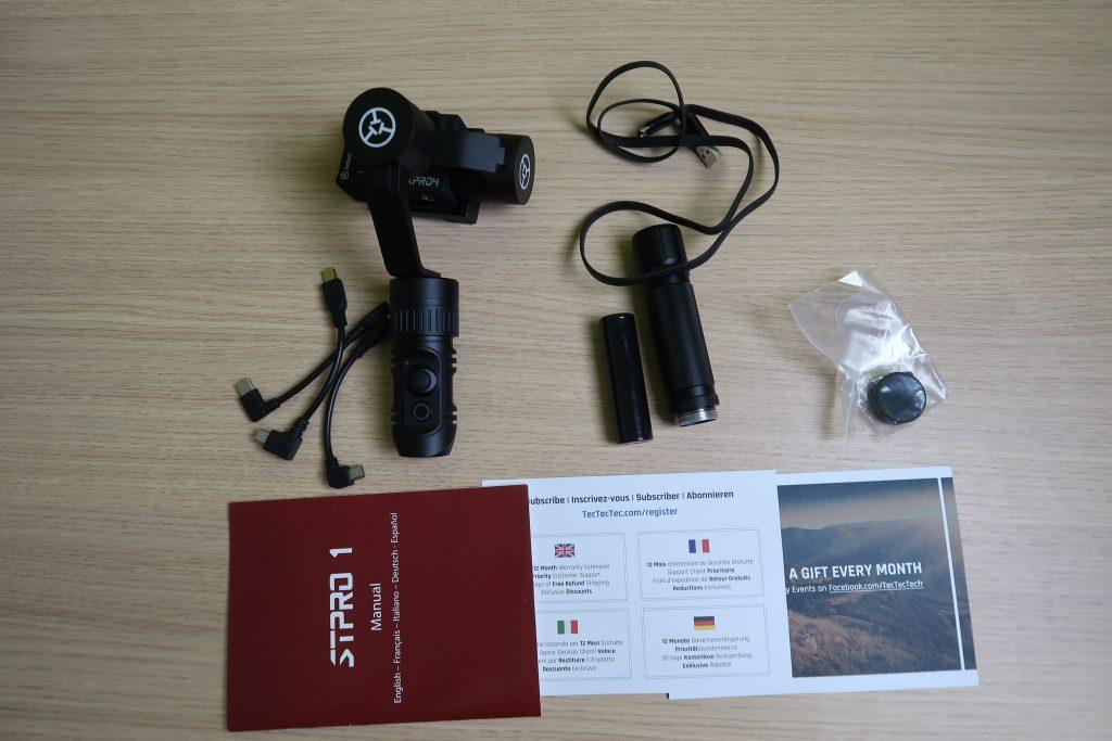 TecTecTec STPRO1 Stabilizzatore accessori
