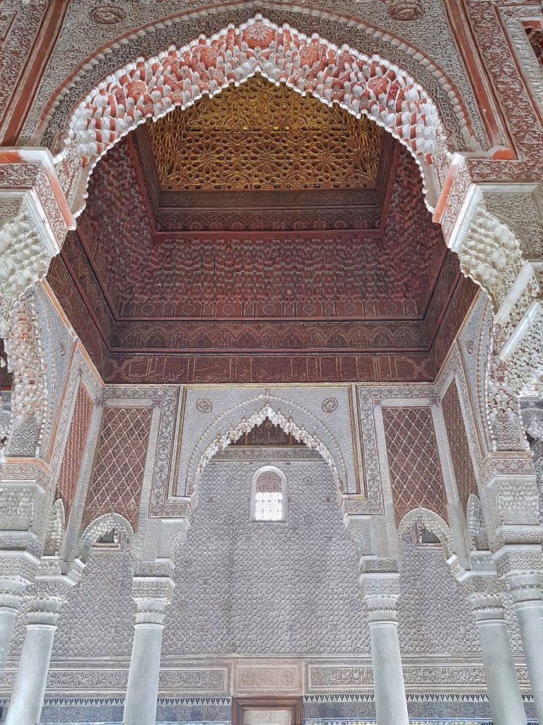 marrakech visita alle tombe saadiane
