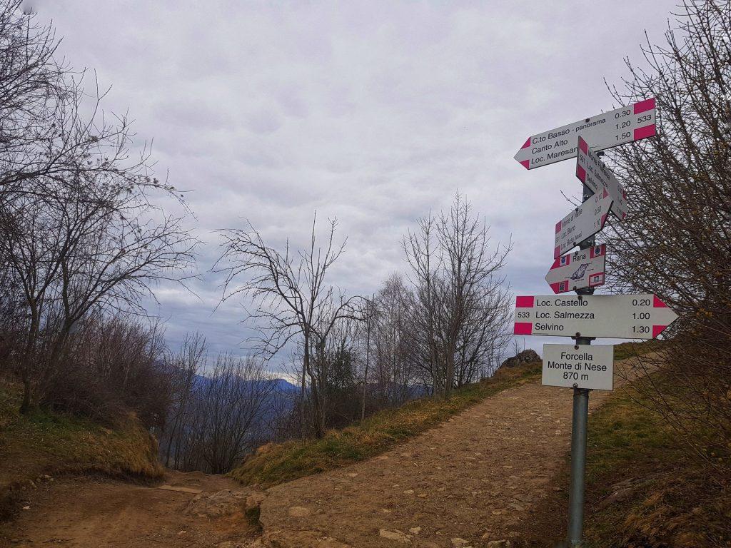 Cartello Escursionistico Percorso della Rana