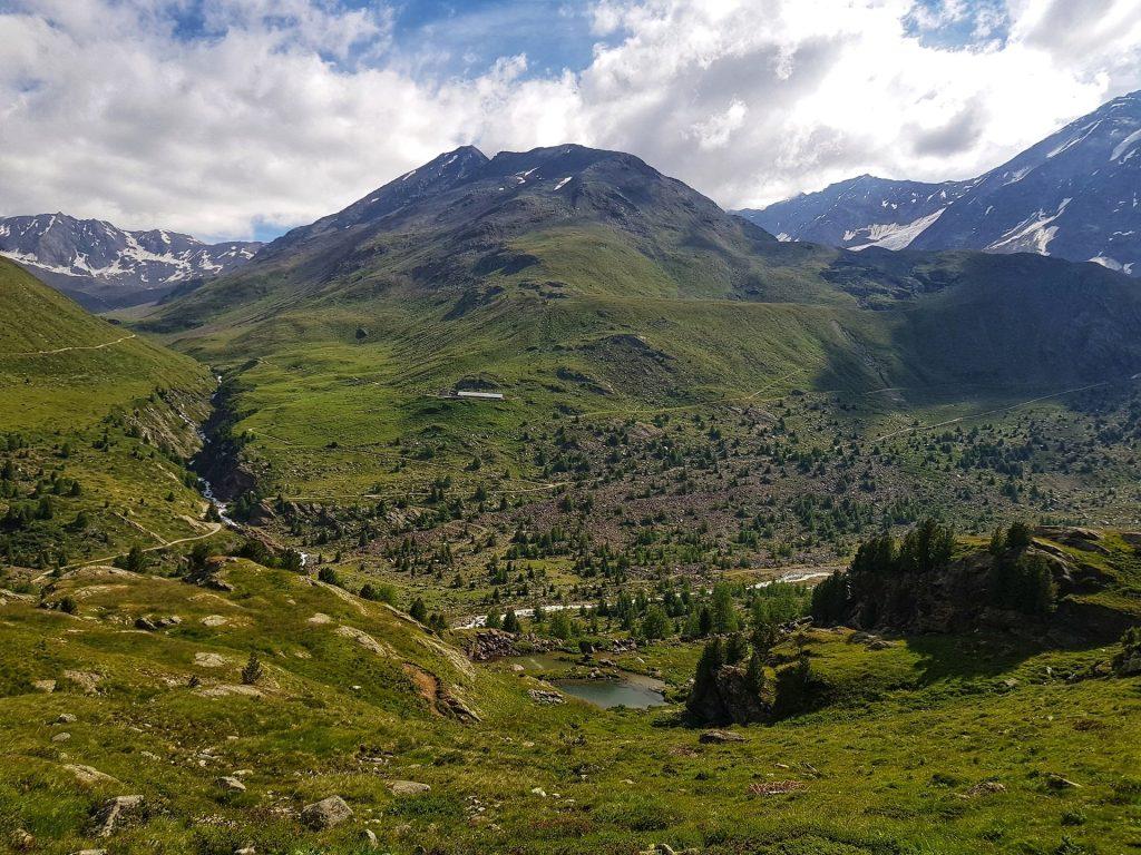 Segnavia Sentiero Glaciologico alto