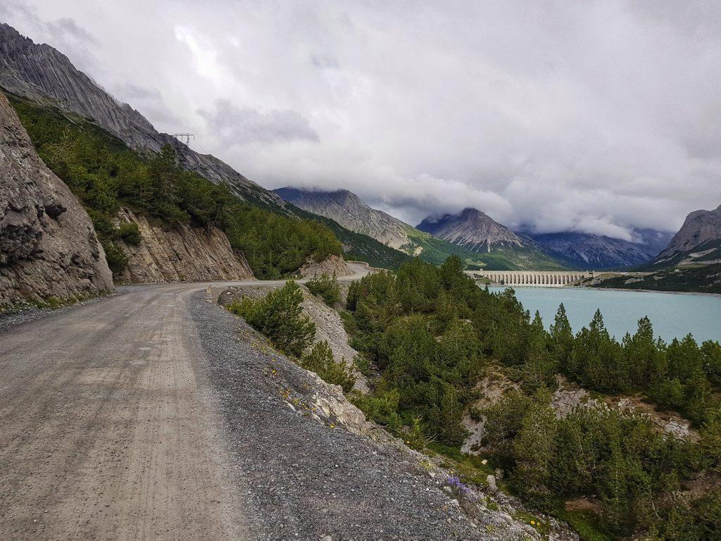 vista lago di cancano