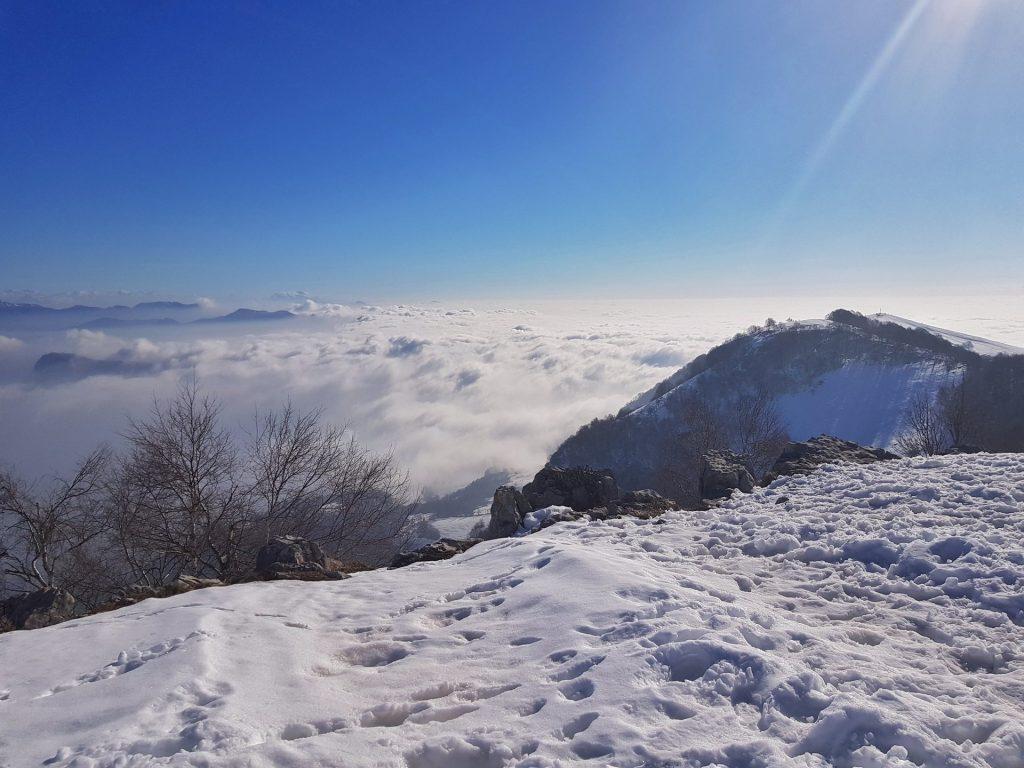 Paesaggio Valcava Monte Linzone
