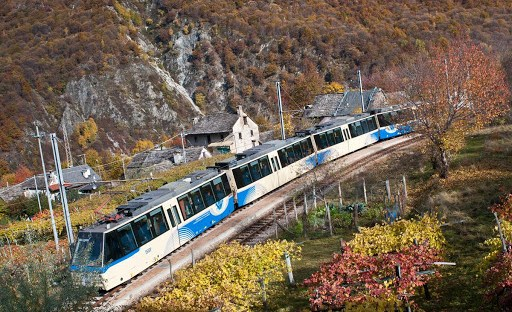 treno panoramico