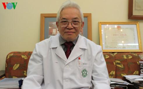 GS Phạm Gia Khải, thành viên Ban Chăm sóc Sức khỏe Trung ương