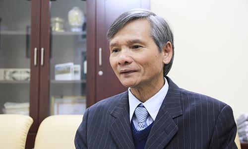 Ông Trương Văn Phước - Quyền chủ tịch Ủy ban Giám sát tài chính quốc gia khuyên nên đặc biệt thận trọng với Bitcoin. Ảnh: Anh Tú.