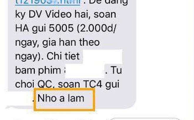 Bất ngờ chưa: Đọc tin nhắn quảng cáo của tổng đài, vợ bỗng dưng phát hiện ra thông điệp lạ bồ nhí gửi chồng