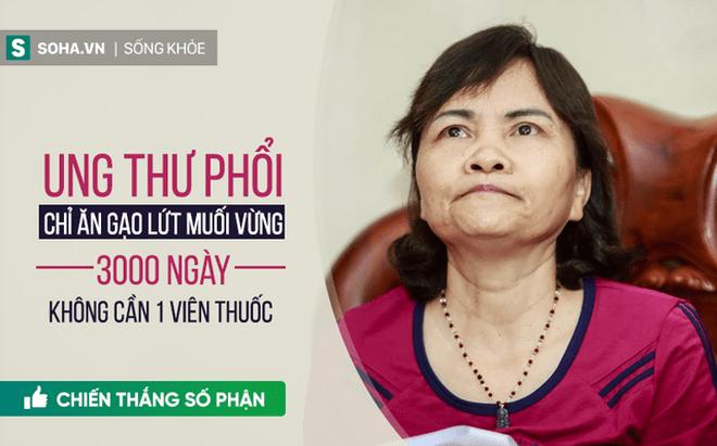 Kỳ tích chữa ung thư tại Hà Nội: Ăn gạo lứt muối mè, 3000 ngày không cần đến <a target=