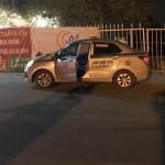 Tài xế taxi đạp cửa bỏ chạy rồi gục chết phía trước sân Mỹ Đình, cổ có thương tích