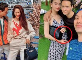 Hồ Ngọc Hà lộ vòng 2 nhô cao bất thường, phải chăng đang mang bầu với Kim Lý?