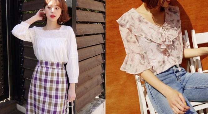 Đếm sơ sơ đã có 6 mẫu áo blouse xinh không để đâu cho hết giúp nàng công sở mặc đẹp suốt hè này