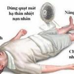 Sốc nhiệt do nắng nóng – Coi chừng đột tử