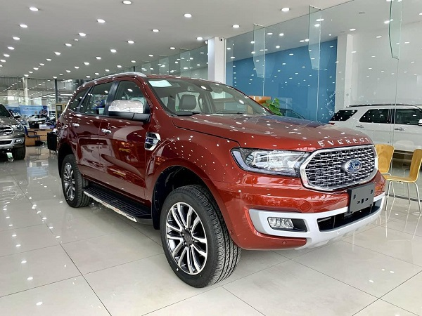 Ford Everest new