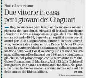 10/10/2016 - La Stampa