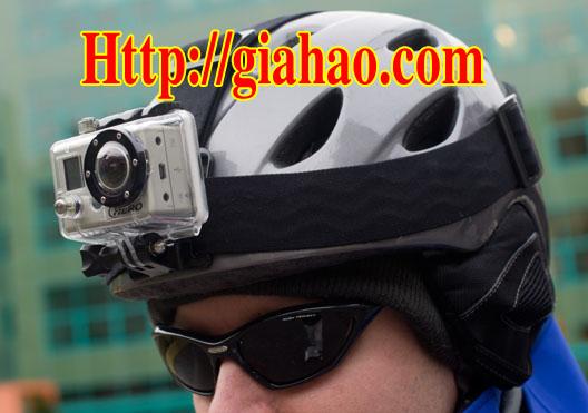 Cách lắp đặt camera phượt xe máy gắn mũ bảo hiểm - Sport Action Camera WIT-2600P