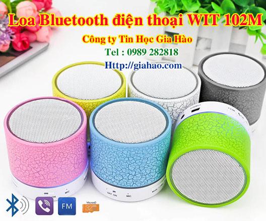 Công ty Gia Hào khuyến mãi hè năm 2019 tặng loa Bluetooth điện thoại WIT 102M dành cho đại lý