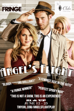 angels flights gia on the move theatre reviews hollywood fringe festival