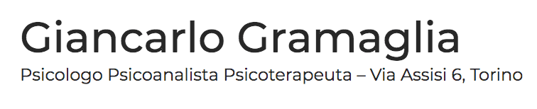 Logo Giancarlo Gramaglia