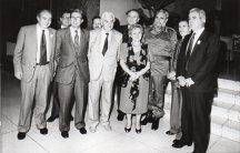 1990 Cuba con la delegazione dell'unione interparlamentare da Fidel Castro. A dx gli on. Aniasi e Ciccardini