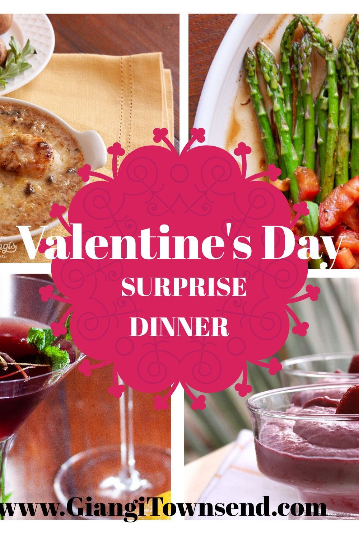 Valentine's dinner surprise