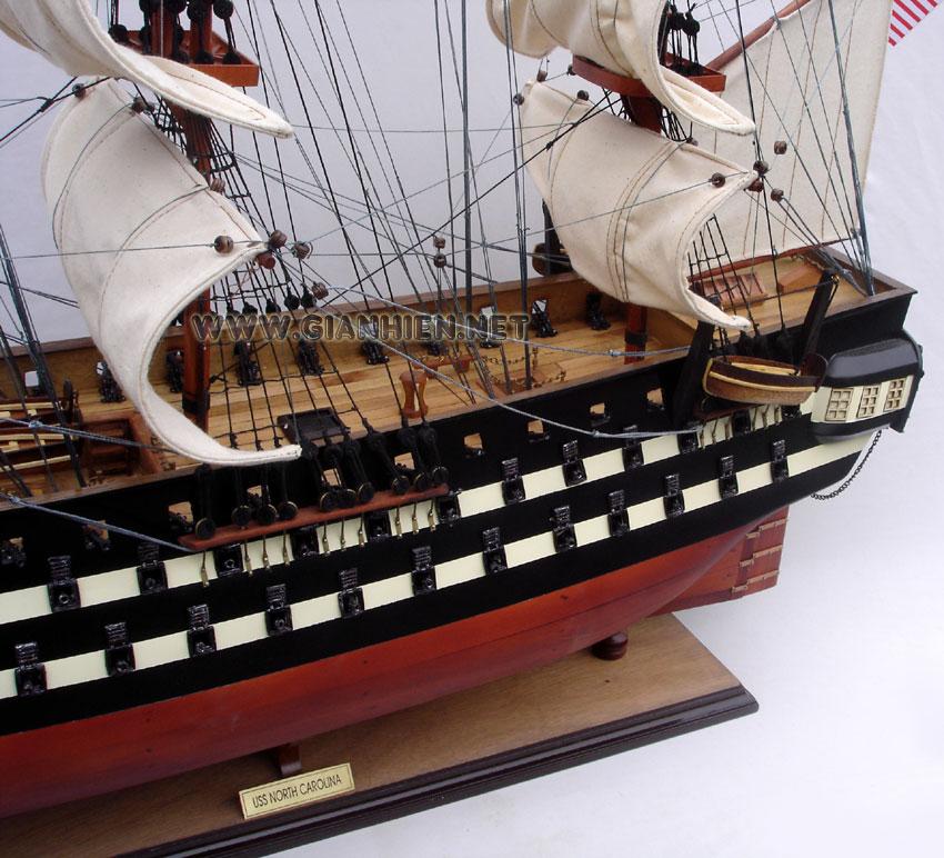 TALL SHIP USS North Carolina