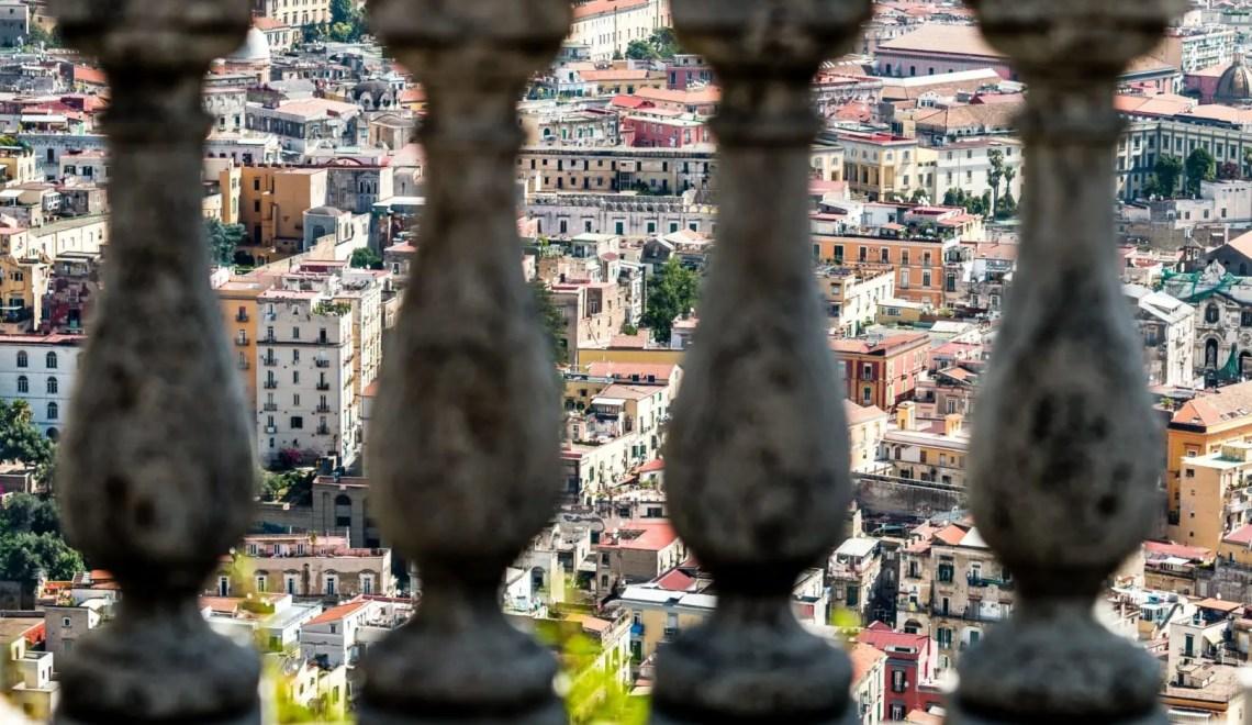 Dalla Terrazza di San Martino a Napoli