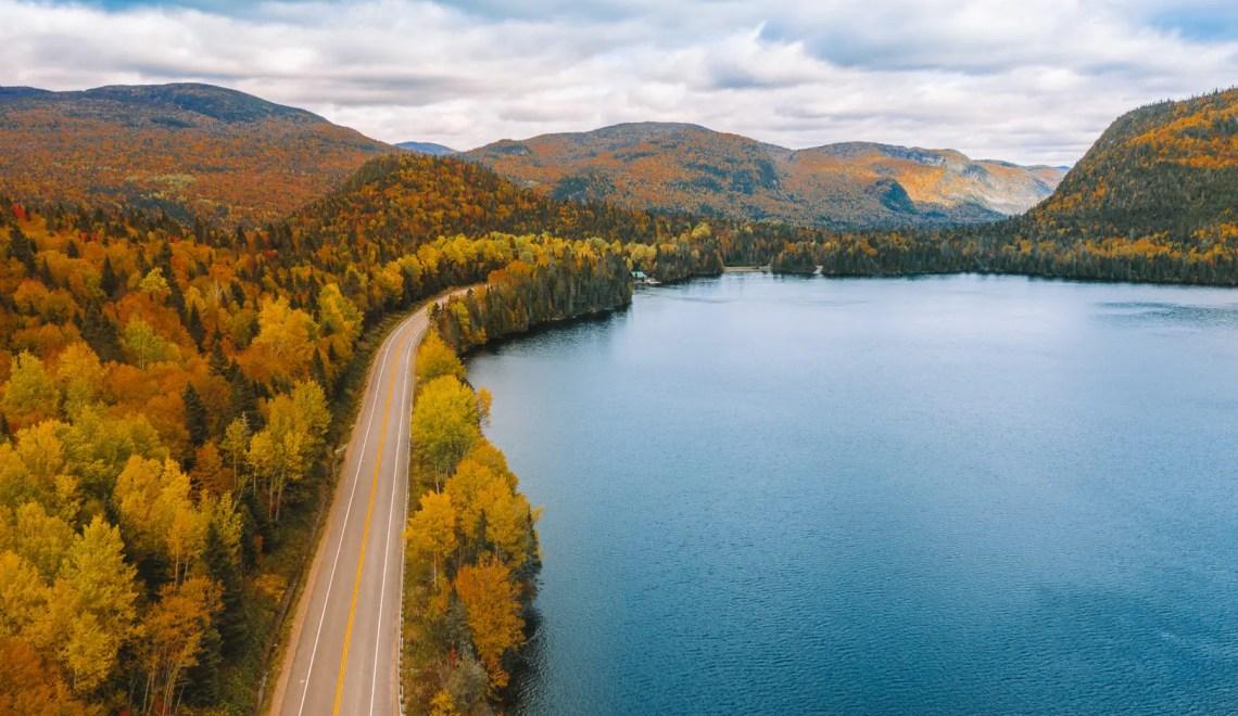 Viaggio on the road in Canada