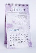 side effects calendar • addiction [january] photo