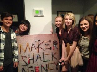 Maker Shack Agency: Gianna LePera, Kalama Epstein and Kenny Ridwan