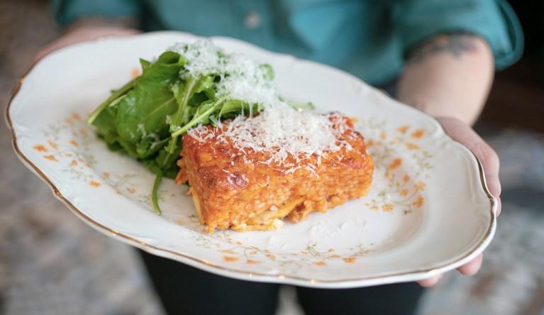 Lamb & Mushroom Lasagne