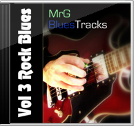 MrG Blues Backing Tracks Vol 3 Rock Blues