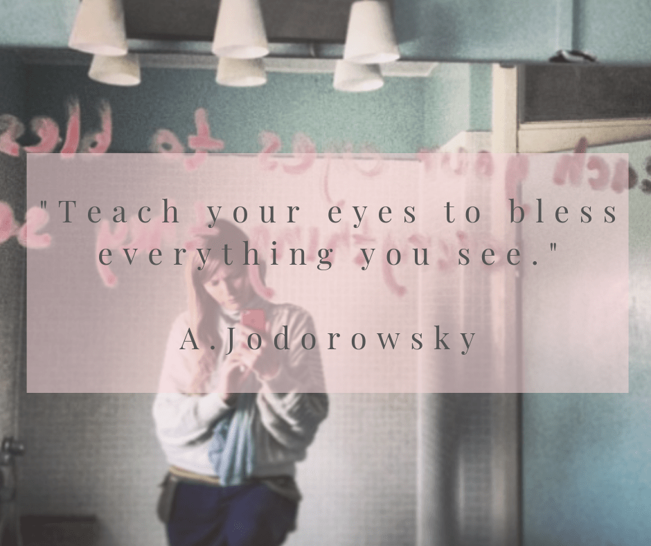 teach your eyes to bless