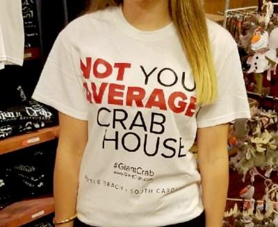 Giant Crab, Myrtle Beach