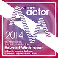 Edward Winterrose: Best Actor