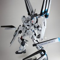 """Destroyer!"" MG 1/100 Nu Gundam Ver.Ka"