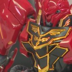 RG Sinanju 05 Chest Close Up