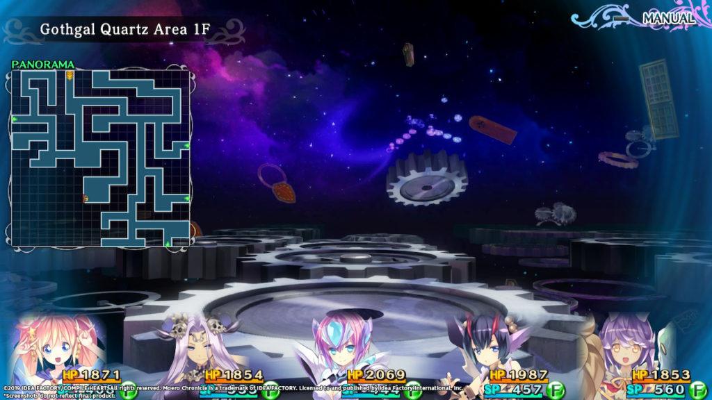 Moero Chronicle Hyper - Dungeon Screenshot 2
