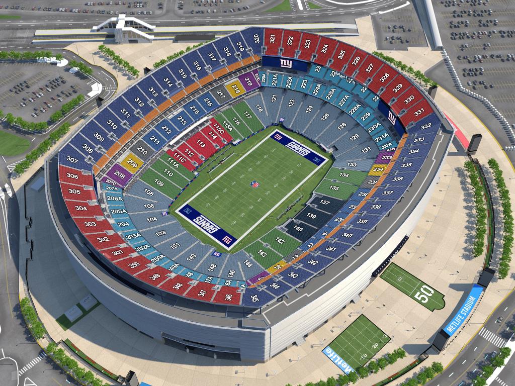 Gillette Stadium Seating 360 View