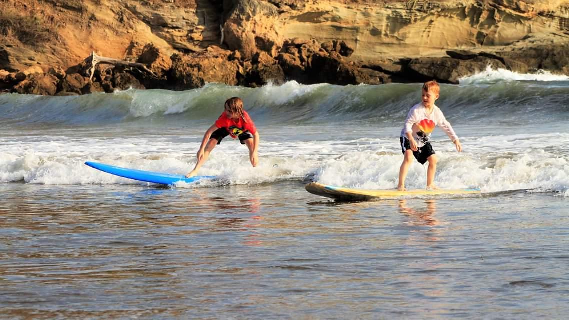 beginner surf nicaragua