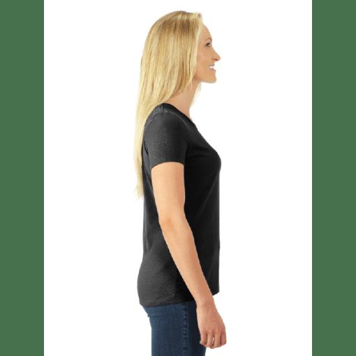 WOMEN'S T-SHIRT | GTTC DRI-POWER ACTIVE - Black - Side