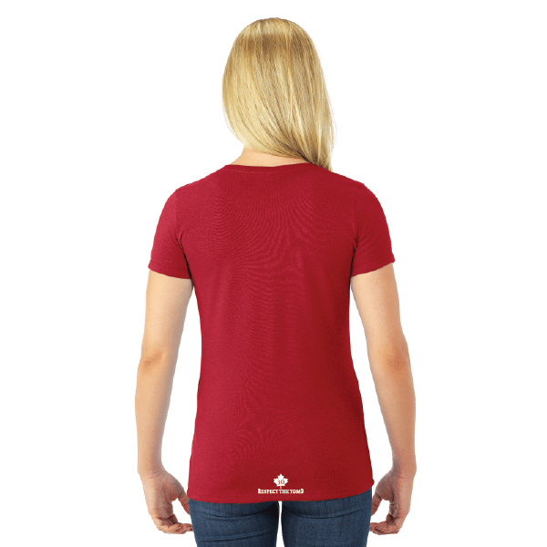 Giants Tomb Trading Co - Jerzee - T Shirt - Red - Back