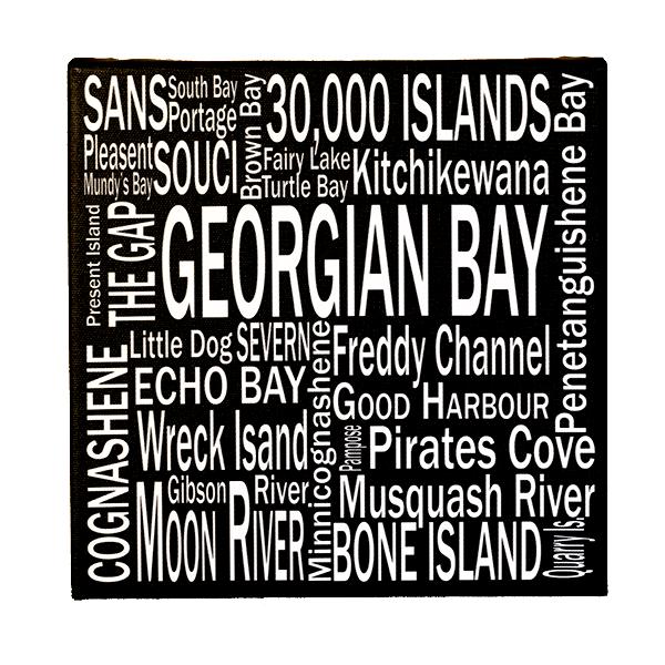 8 x 8 Georgian Bay - Canvas Print - Wall Art - Giants Tomb Trading Co