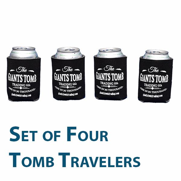 Beverage Cooler - Giants Tomb Trading Co. - Tomb Traveler -Set of 4