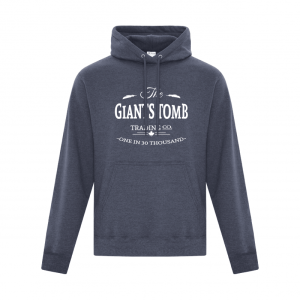 Women's Hoodie | Men's Hoodie | GTTC Active Blend - - H_Navy Front The GTTC