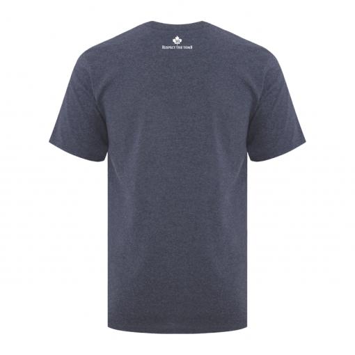 Men's T-Shirt | GTTC Active Blend | H_Navy Back