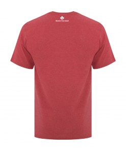 Men's T-Shirt | GTTC Active Blend | - H_Red Back