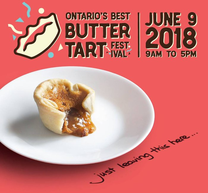 Midland Butter Tart Festival | Giants Tomb Trading Co